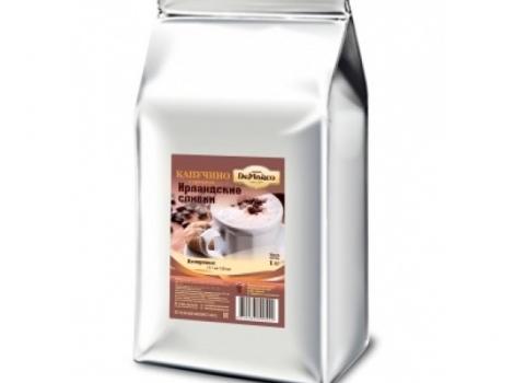 капучино ирландские сливки de marco 1000 гр (1 кг)