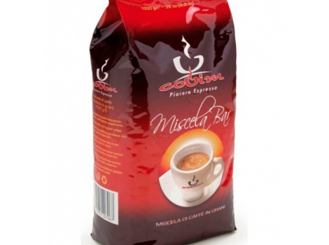 кофе в зернах covim miscela bar 1000 гр (1кг)