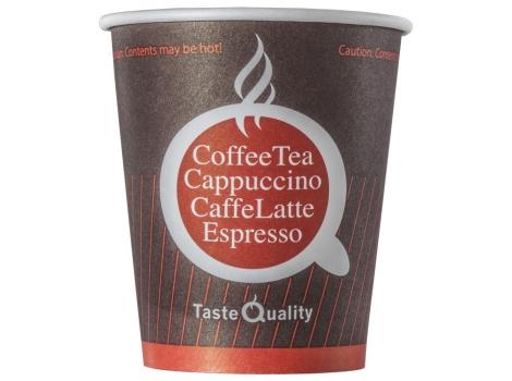 Бумажный стакан для кофе 180 мл цветной Taste Quality (80 шт)