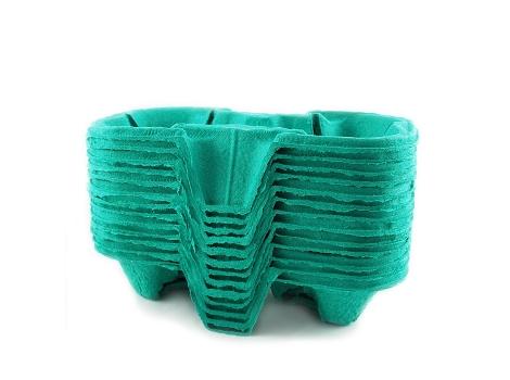 Держатель стаканов cup holder на 2 стакана от 140 мл Зеленый