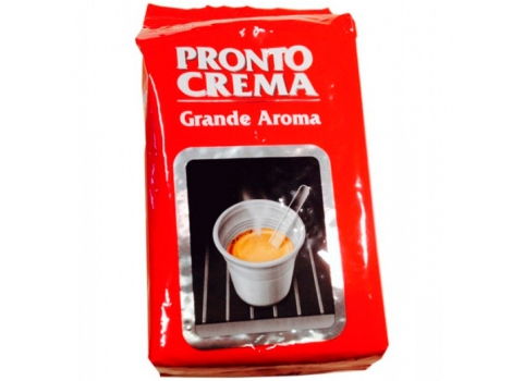 кофе в зернах lavazza pronto crema grande aroma 1000 гр (1кг)