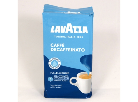 Кофе молотый Lavazza Caffe Decaffeinato 250 грамм