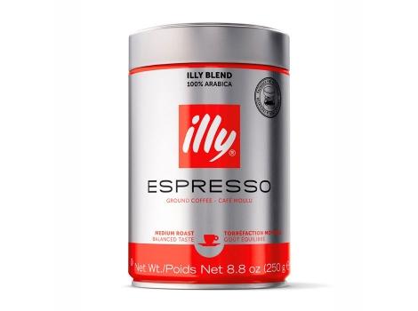 Кофе молотый Illy Espresso 250 гр (0.25кг)