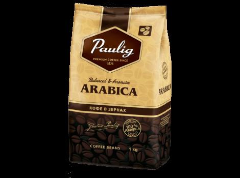 Кофе в зернах Paulig Arabica 100% 1000 гр (1кг)