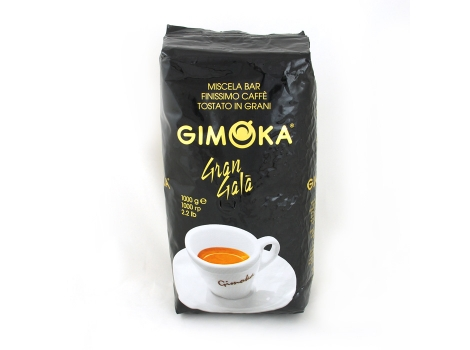 Кофе в зернах Gimoka Gran Gala 1000 гр (1кг)