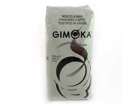 Кофе в зернах Gimoka Gusto Ricco L'espresso all'Italiana 1000 гр (1кг)