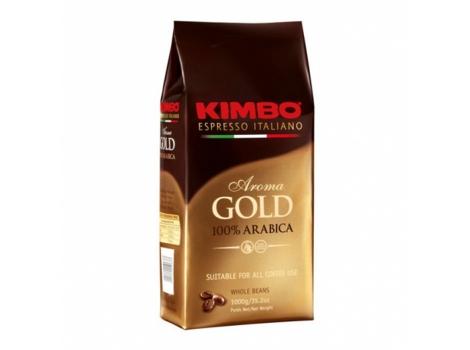 Кофе в зернах KIMBO Aroma Gold 1000 гр (1кг)