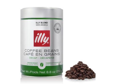 Кофе зерновой Illy Espresso Deka 250 гр (0.25кг)
