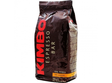 Кофе в зернах KIMBO Espresso Bar Top Flavour 1000 гр (1кг)