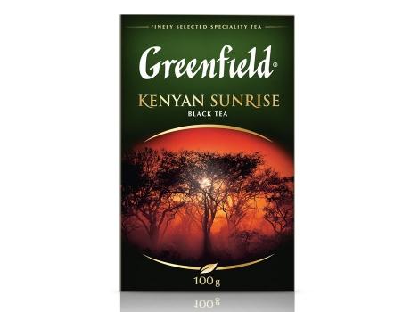 Чай черный Гринфилд Kenyan Sunrise листовой (100 гр)