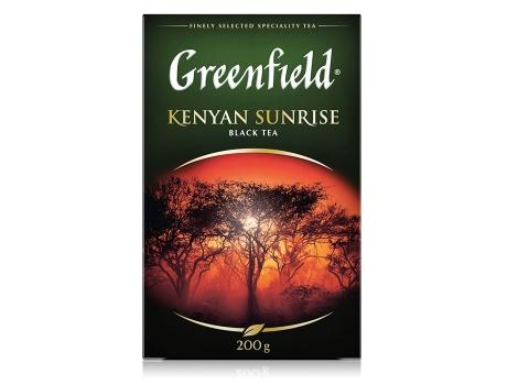 Чай черный Гринфилд  Kenyan Sunrise листовой (200 гр)