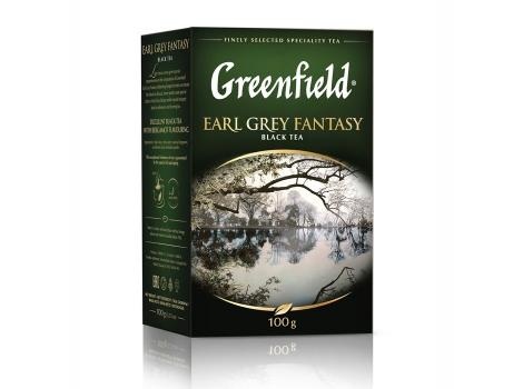 Чай черный Гринфилд Earl Grey Fantasy листовой (100 гр)