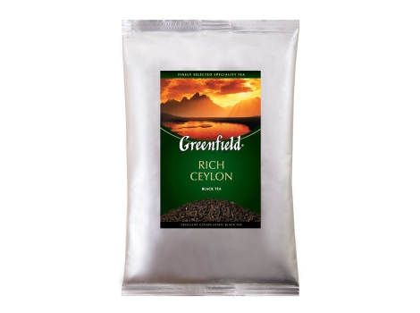 Чай Гринфилд Rich Ceylon 250 гр
