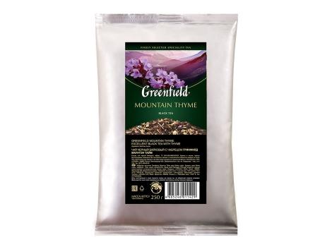 Чай Гринфилд Mountain Thyme 250 гр