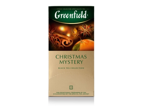 Чай черный Гринфилд Christmas Mystery (25 пак. * 1,5 гр)