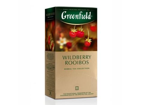 Чай Гринфилд Вайлдберри Ройбош (25 пак. х 1,5г.)