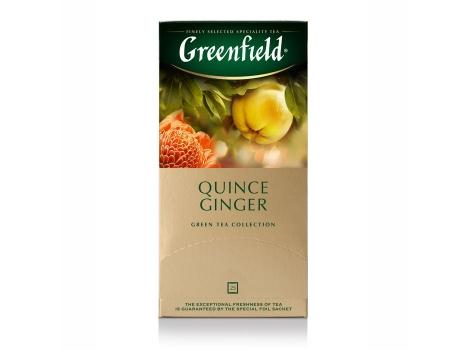 Чай зеленый Гринфилд Quince Ginger (25 * 2 гр)