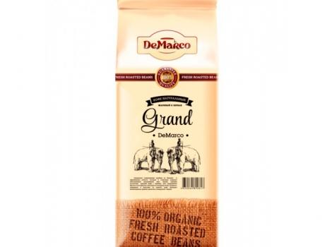 кофе в зернах de marco fresh roast grand 1000 гр (1 кг)
