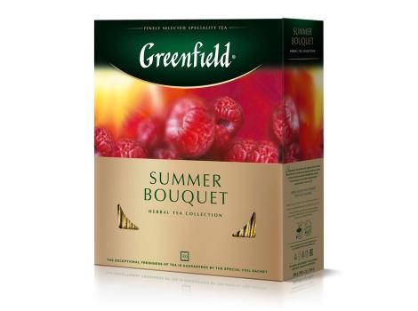 Чай Гринфилд Самма Букет, 100 пак. х 2г.