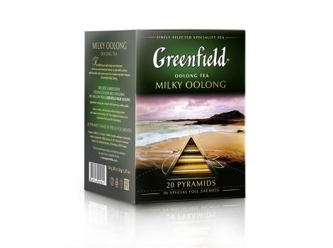 Чай улун Гринфилд Milky Oolong в пирамидках (20 х 1.8 гр)