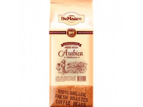 кофе в зернах de marco fresh roast арабика 1000 гр (1 кг)