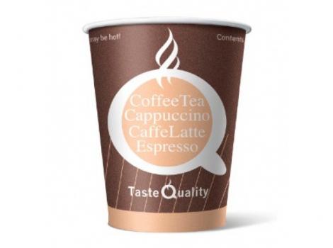бумажный стакан для кофе 165 мл цветной taste quality (100 шт)