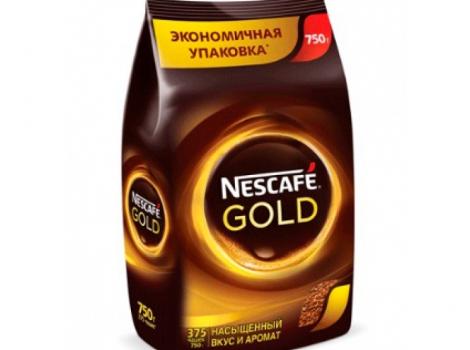 кофе растворимый nescafe gold нескафе голд 750 г (0,75 кг)