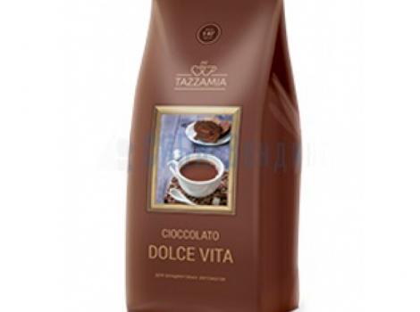 горячий шоколад tazzamia dolce vita для вендинга 1000 гр (1 кг)