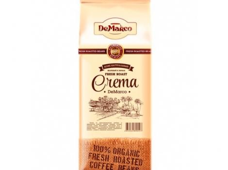 кофе в зернах de marco fresh roast crema 1000 гр (1 кг)