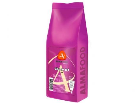 шоколад almafood choco rich в гранулах 1000 гр (1 кг)