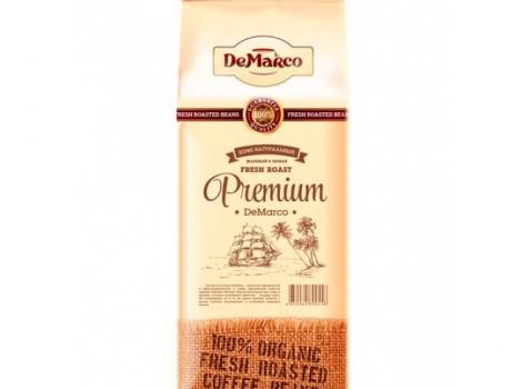 кофе в зернах de marco fresh roast premium 1000 гр (1 кг)