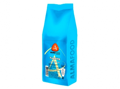 молочные сливки almafood topping  new line 1000 гр (1 кг)