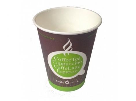 бумажный стакан для кофе 150 мл цветной taste quality (100 шт)