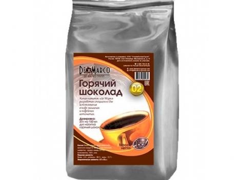 горячий шоколад de marco n-2 1000 гр (1 кг)