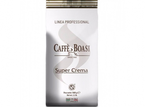 кофе в зернах boasi super crema professional 1000 гр (1кг)