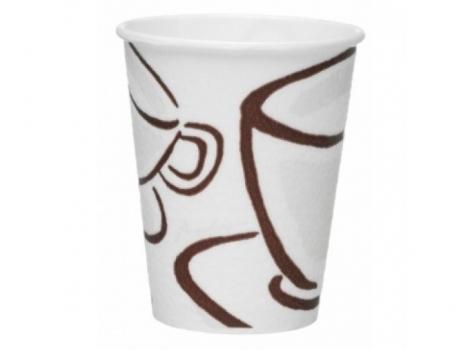 бумажный стакан для кофе 280 мл milano barrier цветной (100 шт)