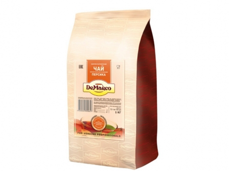 чай персик demarco демарко 1000 гр (1 кг)