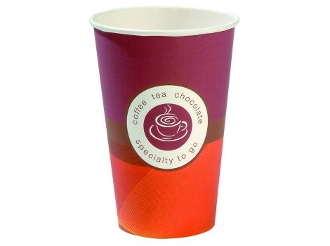 Бумажный стакан для кофе 250 мл Huhtamaki (80 шт) ВЕНДИНГ