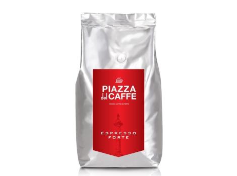 Кофе в зернах Piazza del Caffe Espresso Forte 1000 гр.