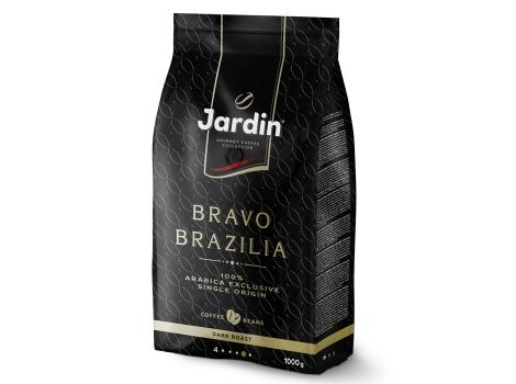 Кофе в зернах Jardin Bravo Brazilia 1000 гр