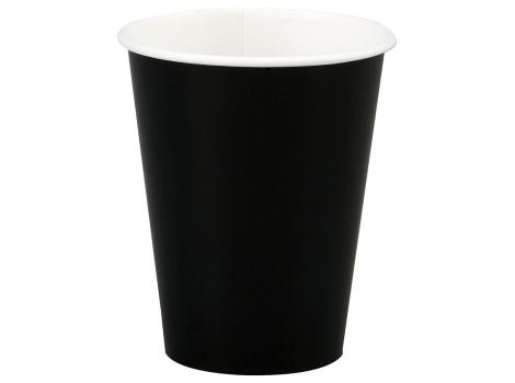 Бумажный стакан для кофе 300 мл черный (50 шт)