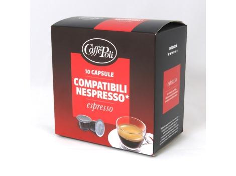 Кофейные капсулы Caffe Poli, Espresso (10 шт)