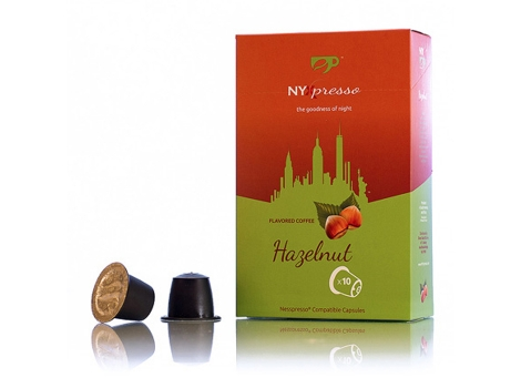 Кофейные капсулы NYXpresso, Hazelnut (10 шт)