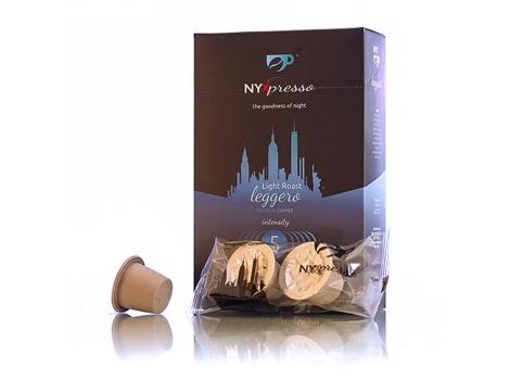 Кофейные капсулы NYXpresso, Leggero (крепость №5) (10 шт)