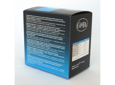 Кофейные капсулы Caffe Poli, Decaffeinato (10 шт)