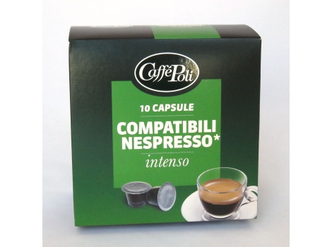 Кофейные капсулы Caffe Poli, Intenso (10 шт)