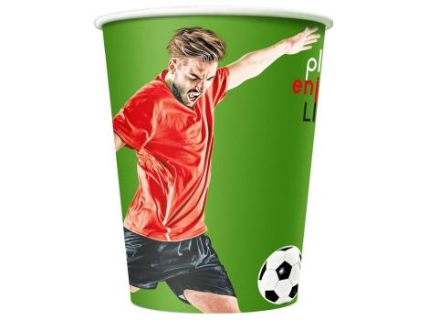 Бумажный стакан для кофе 400 мл FOOTBAL (50 шт)