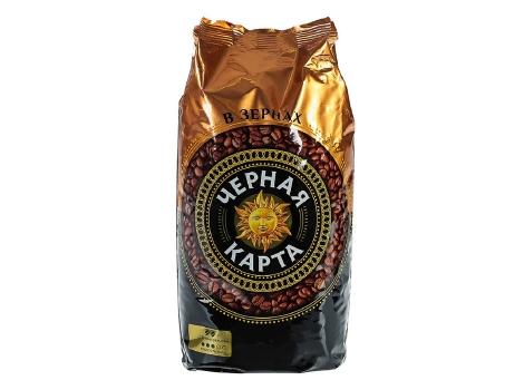 Кофе в зернах Черная Карта (1 кг)