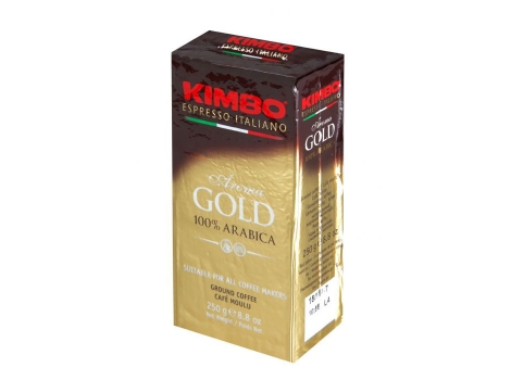 Кофе молотый Kimbo Aroma Gold (250 гр)