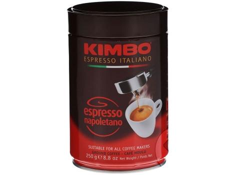 Кофе молотый Kimbo Espresso Napoletano 250 гр (в банке)